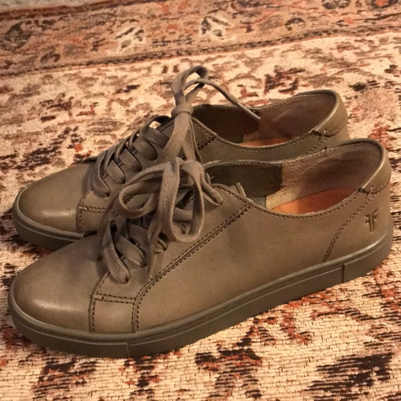 Frye Shoes | Gemma Low Lace Sneakers